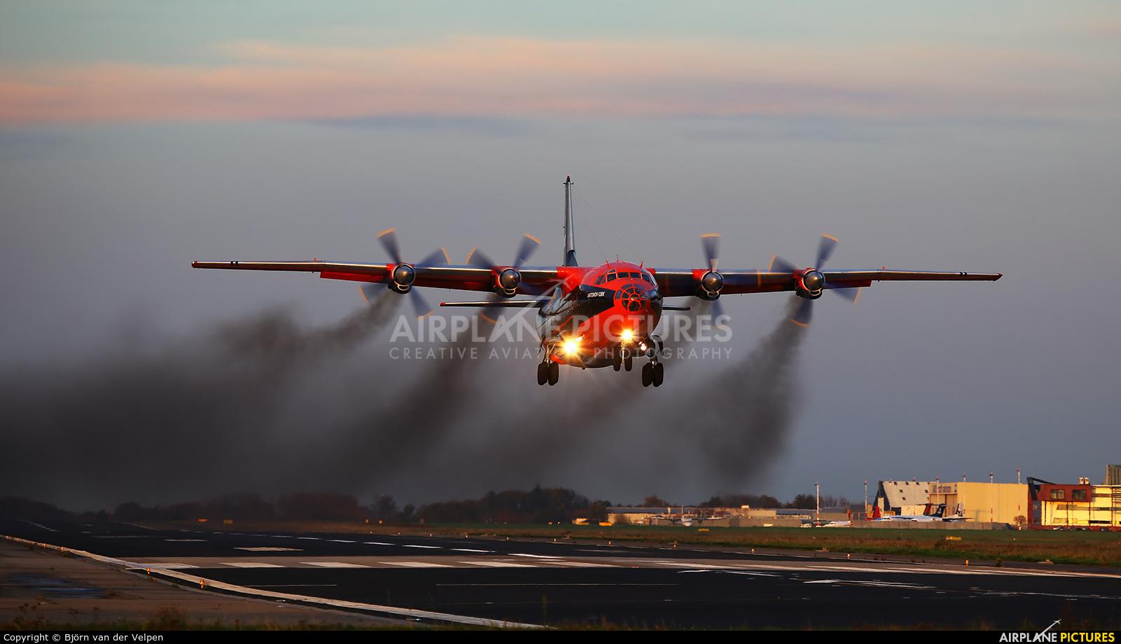 Cavok Air UR-CKL aircraft at Maastricht - Aachen