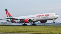 5Y-KZY - Kenya Airways Boeing 777-300ER aircraft