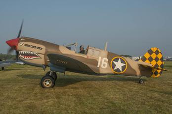N4420M - Private Curtiss P-40E Warhawk