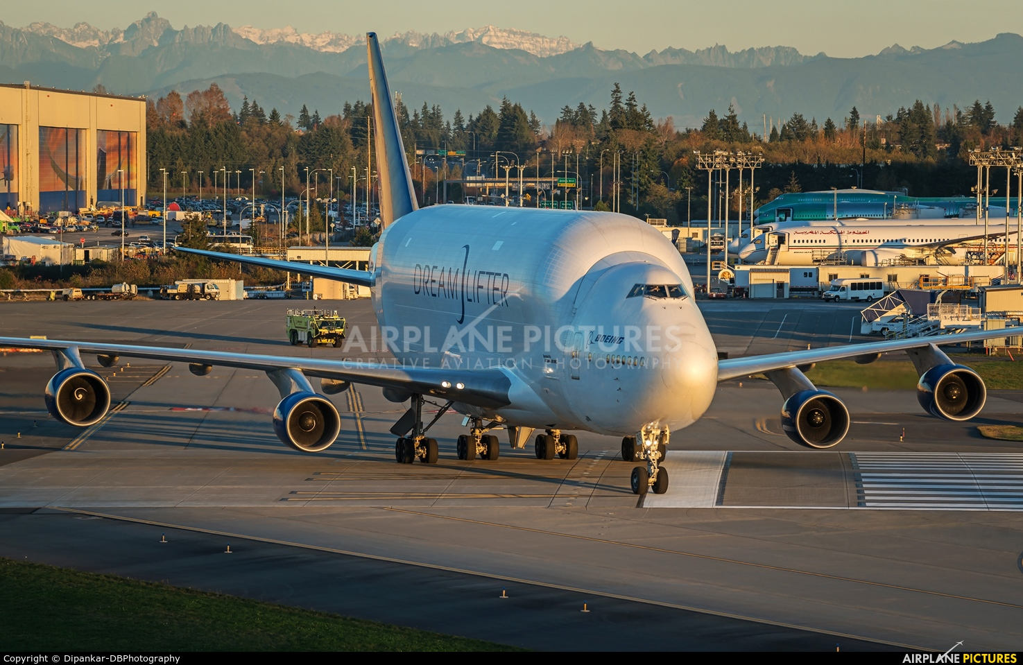 Boeing Company N249BA aircraft at Everett - Snohomish County / Paine Field