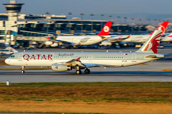 A7-AID - Qatar Airways Airbus A321
