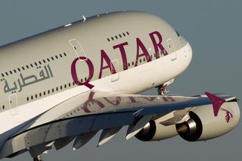 F-WWAL - Qatar Airways Airbus A380