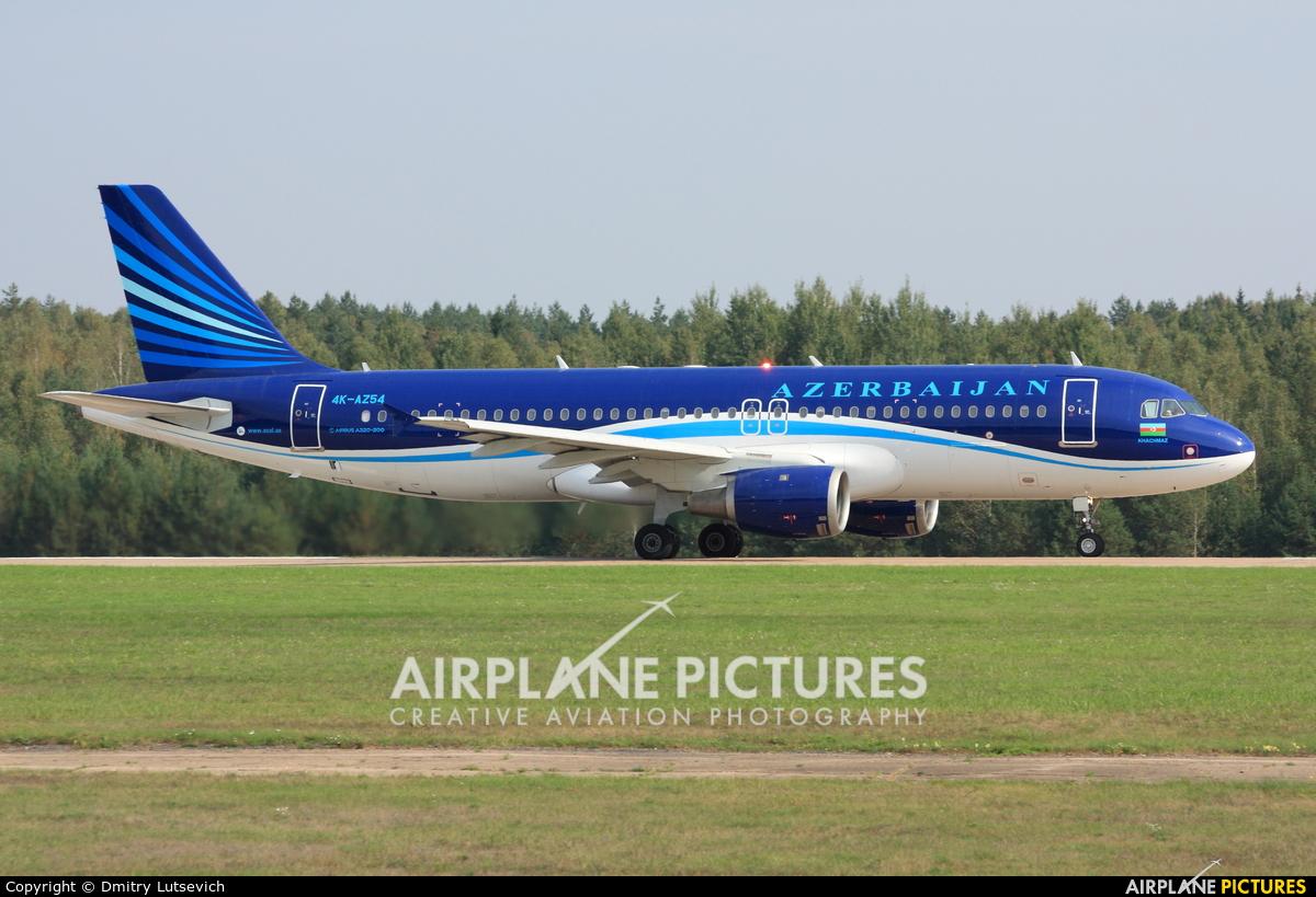Azerbaijan Airlines 4K-AZ54 aircraft at Minsk Intl