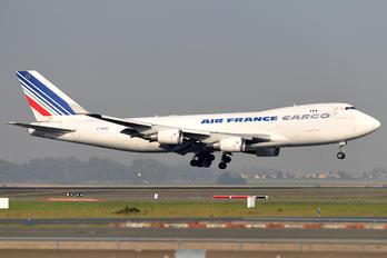 F-GIUC - Air France Cargo Boeing 747-400F, ERF