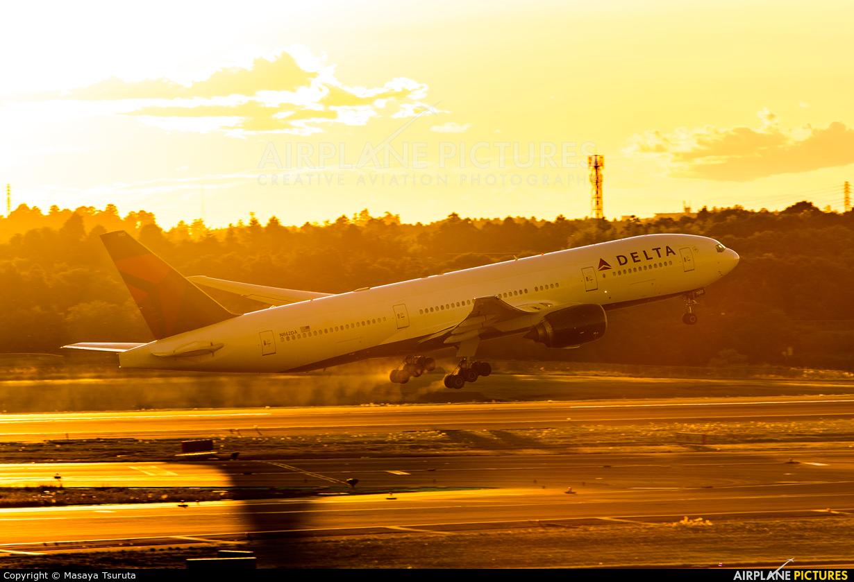 Delta Air Lines N862DA aircraft at Tokyo - Narita Intl
