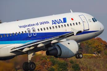 JA8394 - ANA - All Nippon Airways Airbus A320