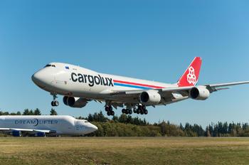N803BA - Cargolux Boeing 747-8F