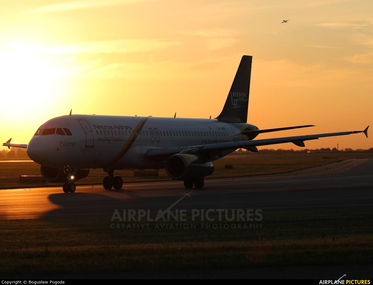 Nesma Airlines SU-NMB aircraft at Warsaw - Frederic Chopin