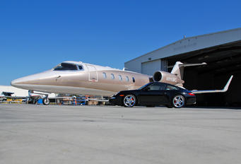 N916BG - Private Learjet 60
