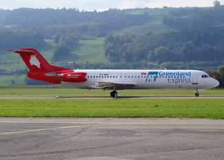 PH-MJP - Greenland Express Fokker 100