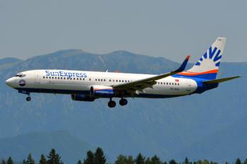 TC-SUU - SunExpress Boeing 737-800