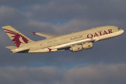 A7-APA - Qatar Airways Airbus A380 aircraft