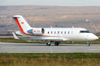 HB-JSG - Private Bombardier Challenger 605