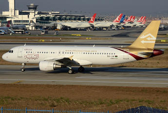 5A-LAI - Libyan Airlines Airbus A320