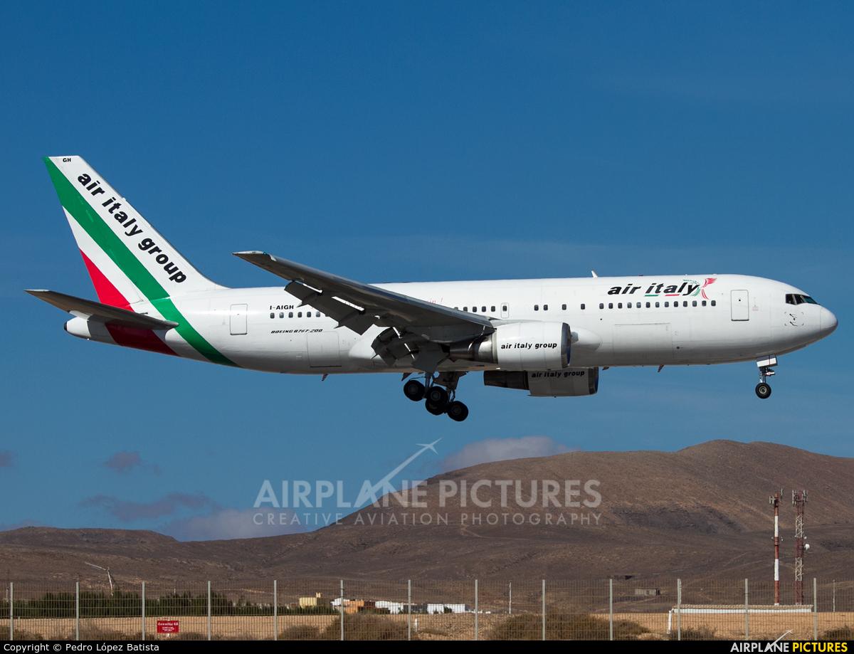 Air Italy I-AIGH aircraft at Fuerteventura - Puerto del Rosario