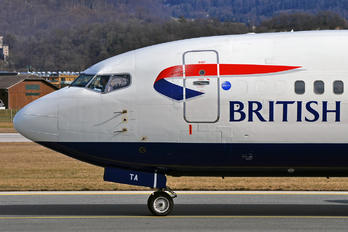 G-GBTA - British Airways Boeing 737-400