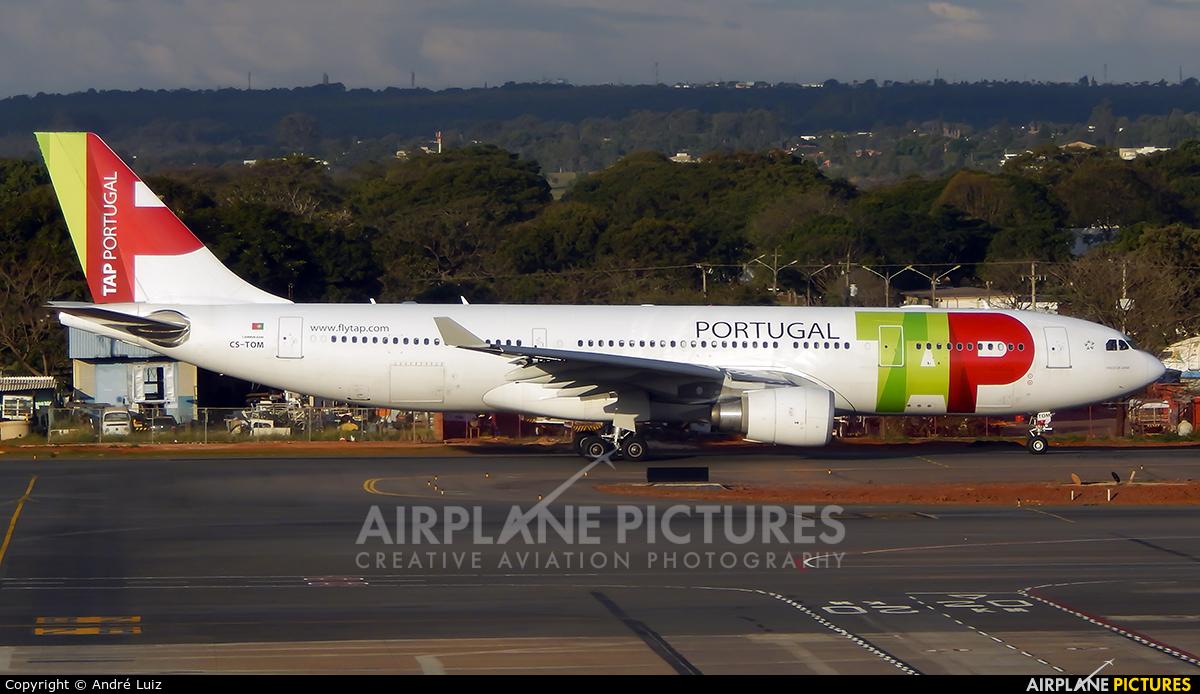 TAP Portugal CS-TOM aircraft at Brasília - Presidente Juscelino Kubitschek Intl