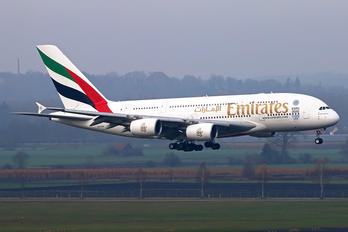 A6-EED - Emirates Airlines Airbus A380