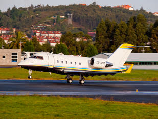 ZS-ANZ - Private Canadair CL-600 Challenger 601