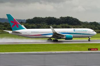 G-OOBK - First Choice Airways Boeing 767-300