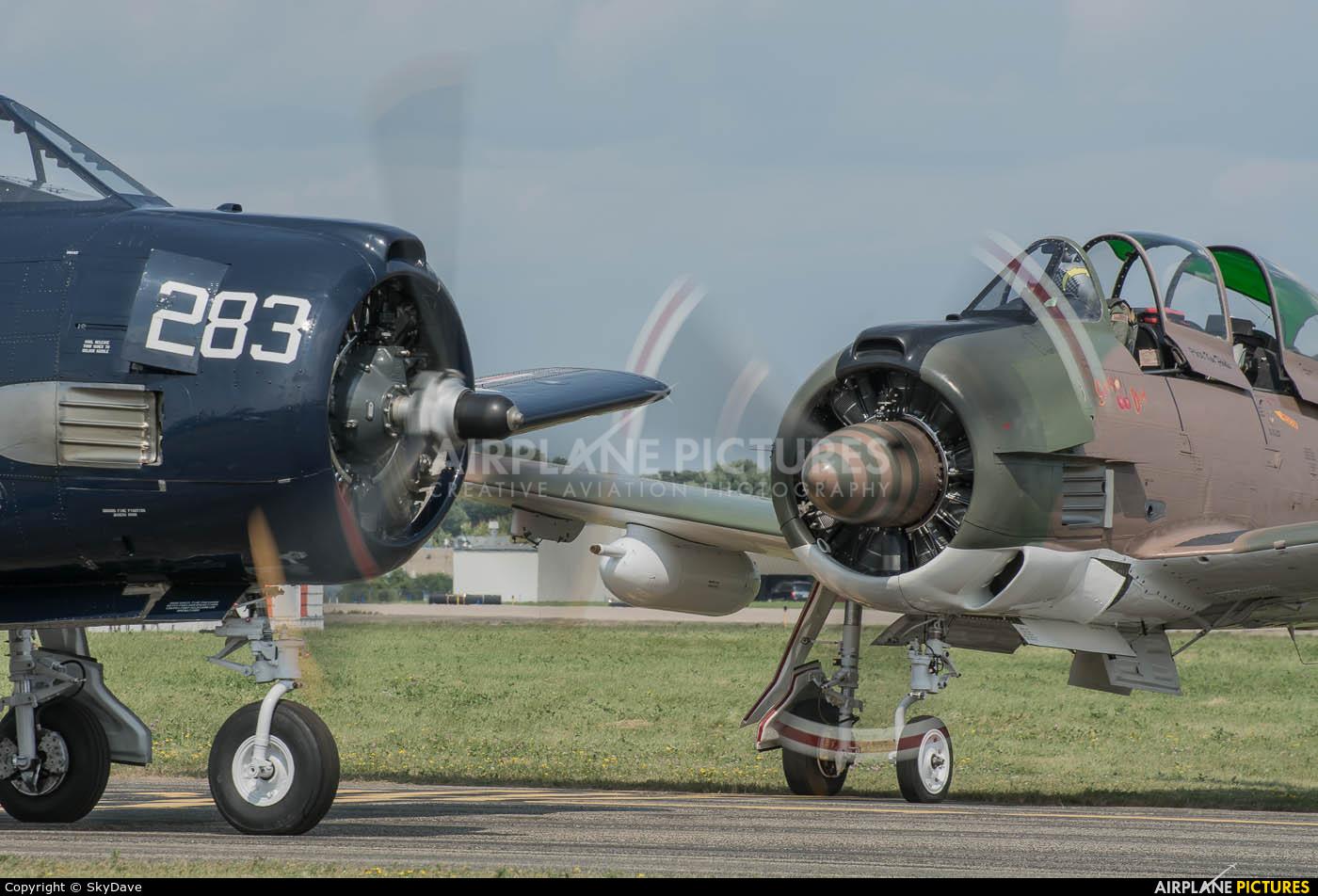 Private N828JC aircraft at Oshkosh - Wittman Regional