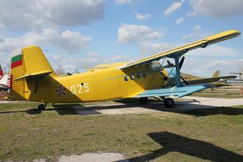 025 - Bulgaria - Air Force Antonov An-2