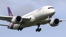 Training flights on the freshly delivered Thai B787-8 title=