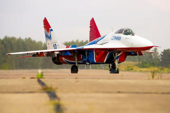"10 - Russia - Air Force ""Strizhi"" Mikoyan-Gurevich MiG-29"