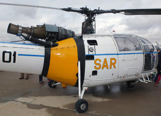 HD.16-1 - Spain - Air Force Sud Aviation SA-319 Alouette III