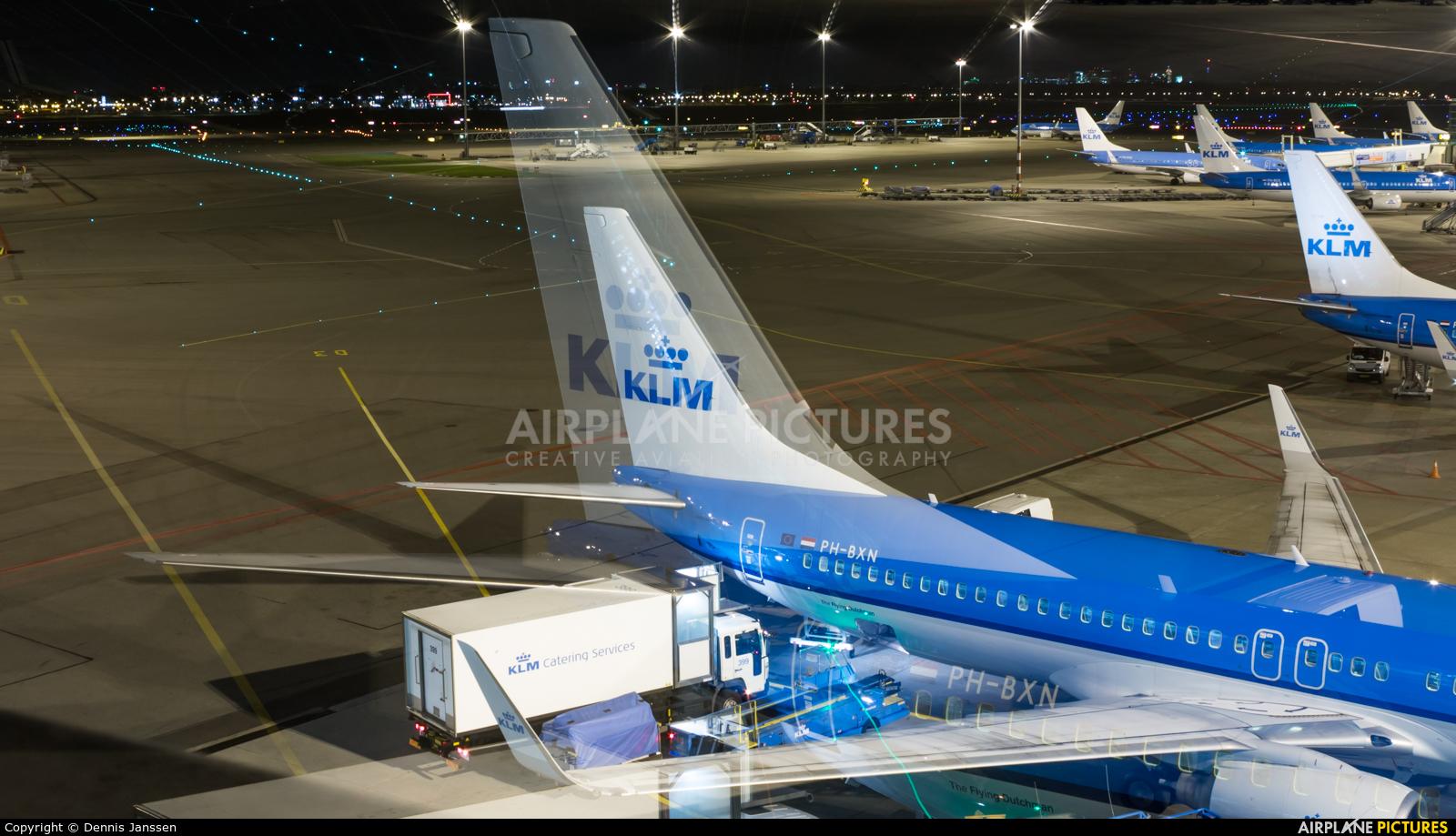 KLM PH-BXN aircraft at Amsterdam - Schiphol