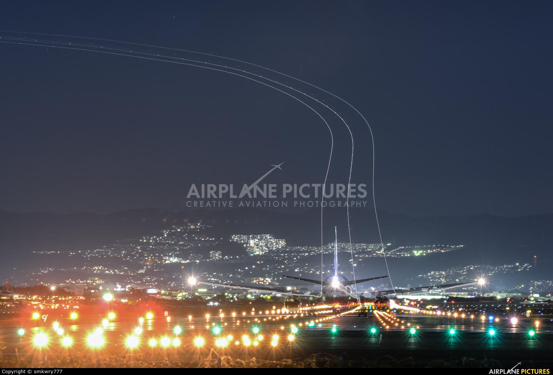 ANA - All Nippon Airways JA742A aircraft at Osaka - Itami Intl
