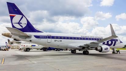 SP-LIM - LOT - Polish Airlines Embraer ERJ-175 (170-200)