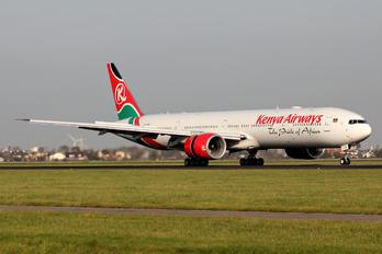 5Y-KZX - Kenya Airways Boeing 777-300ER