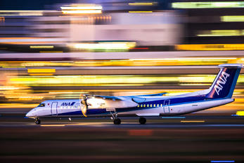 JA845A - ANA Wings de Havilland Canada DHC-8-400Q / Bombardier Q400