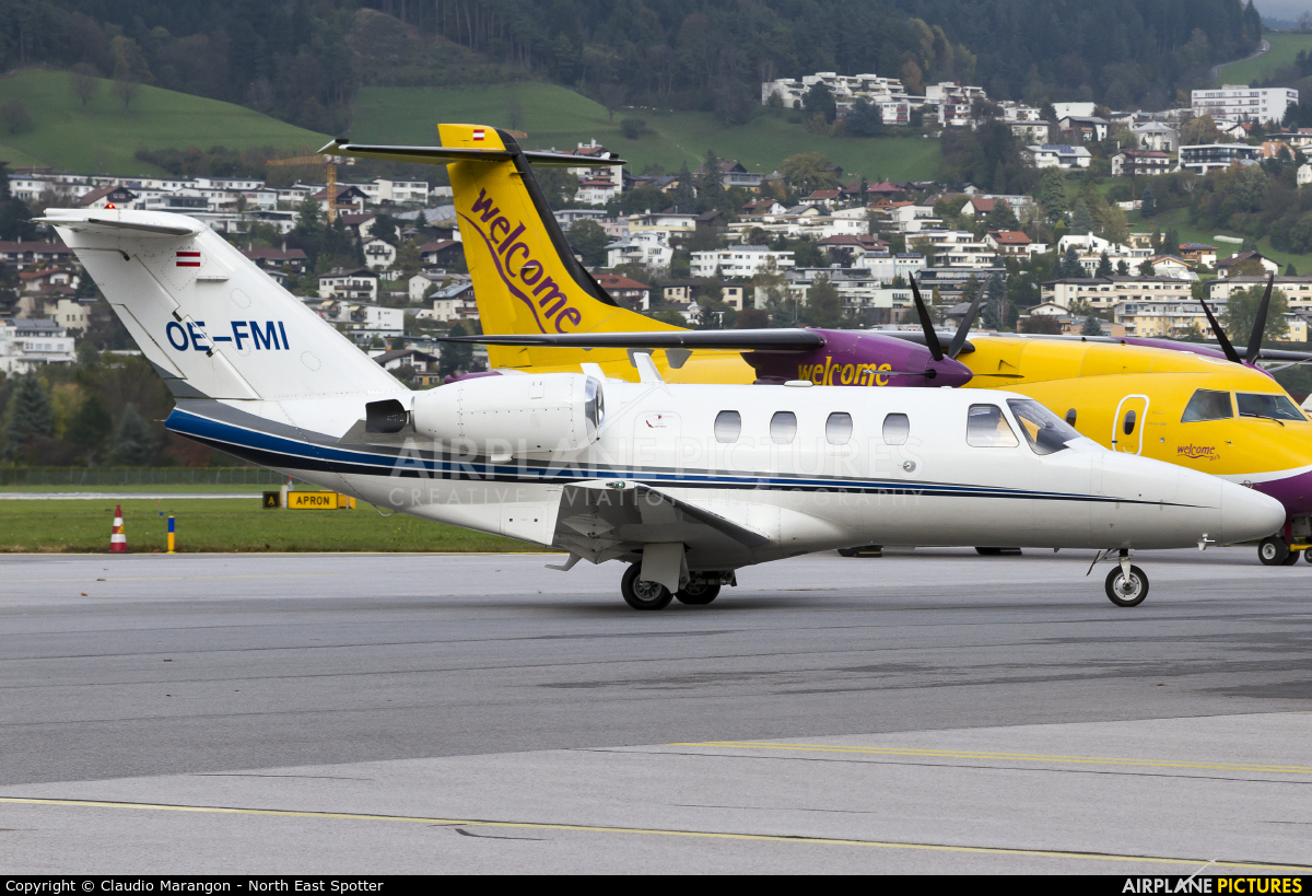 ABC Bedarfsflug OE-FMI aircraft at Innsbruck