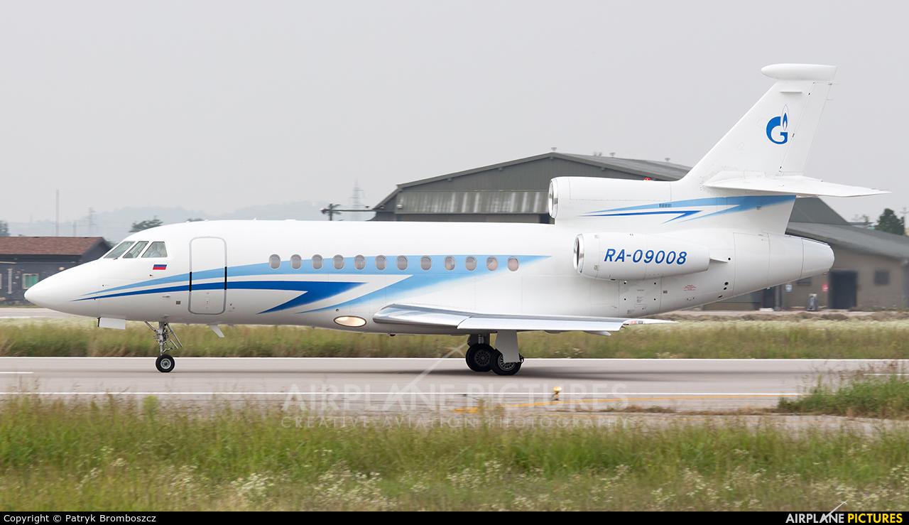 Gazpromavia RA-09008 aircraft at Verona - Villafranca