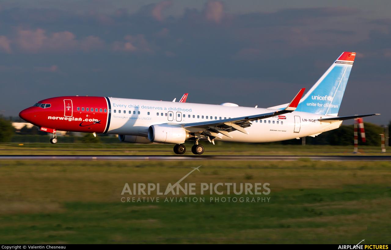 Norwegian Air Shuttle LN-NGE aircraft at Paris - Orly