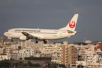 JA8991 - JAL - Japan Transocean Air Boeing 737-400