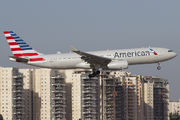 Ex-US Airways A330-200 with new AA colours in Tel Aviv title=