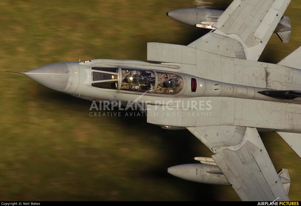 Royal Air Force ZA600 aircraft at Off Airport - Wales