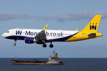G-ZBAA - Monarch Airlines Airbus A320