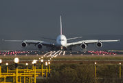 A6-EEJ - Emirates Airlines Airbus A380 aircraft