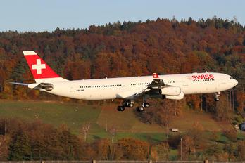 HB-JML - Swiss Airbus A340-300