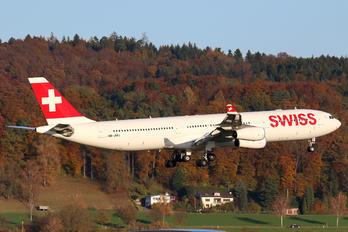 HB-JMJ - Swiss Airbus A340-300