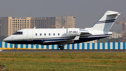VP-BEJ - Private Canadair CL-600 Challenger 601