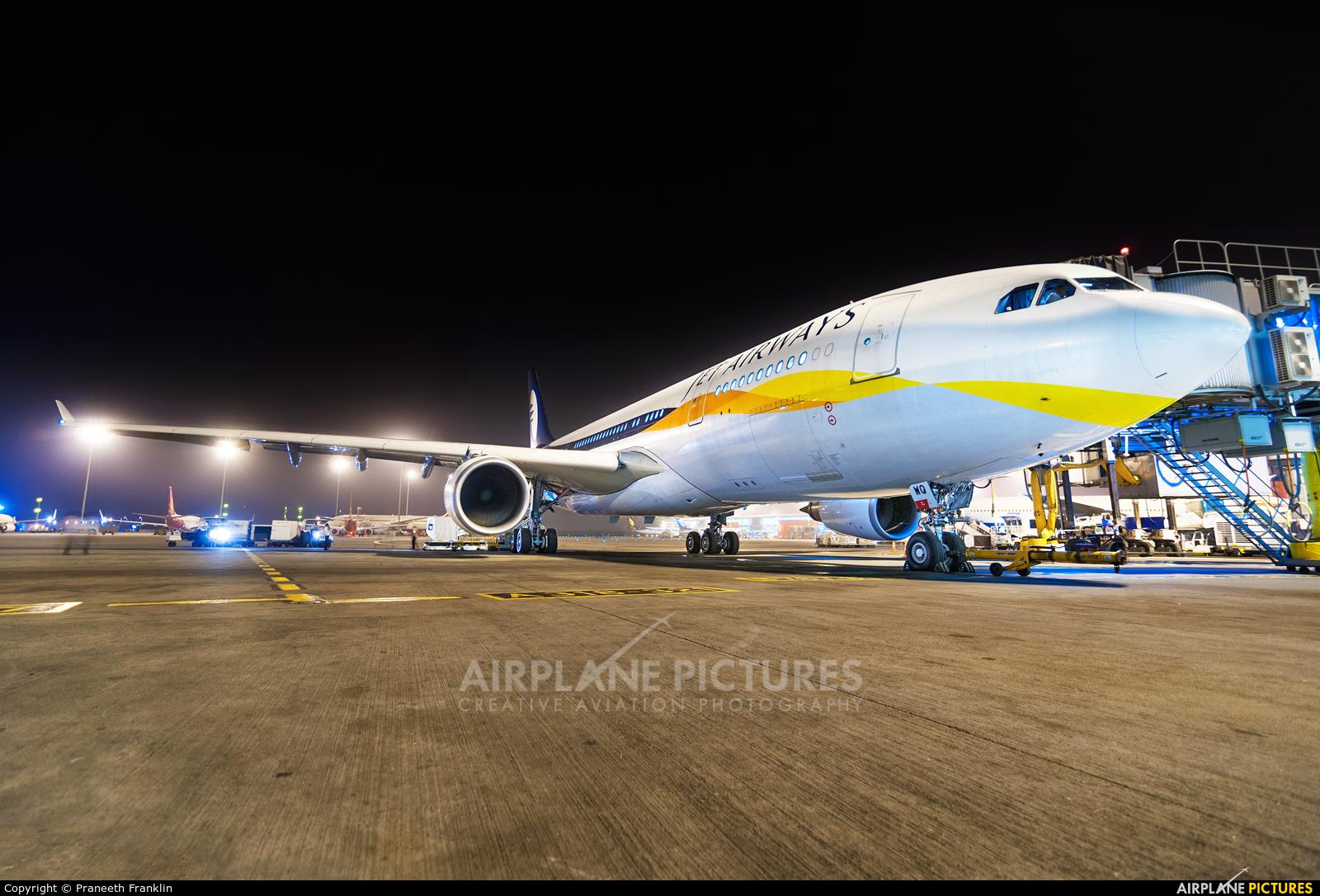 Jet Airways VT-JWQ aircraft at Delhi - Indira Gandhi Intl