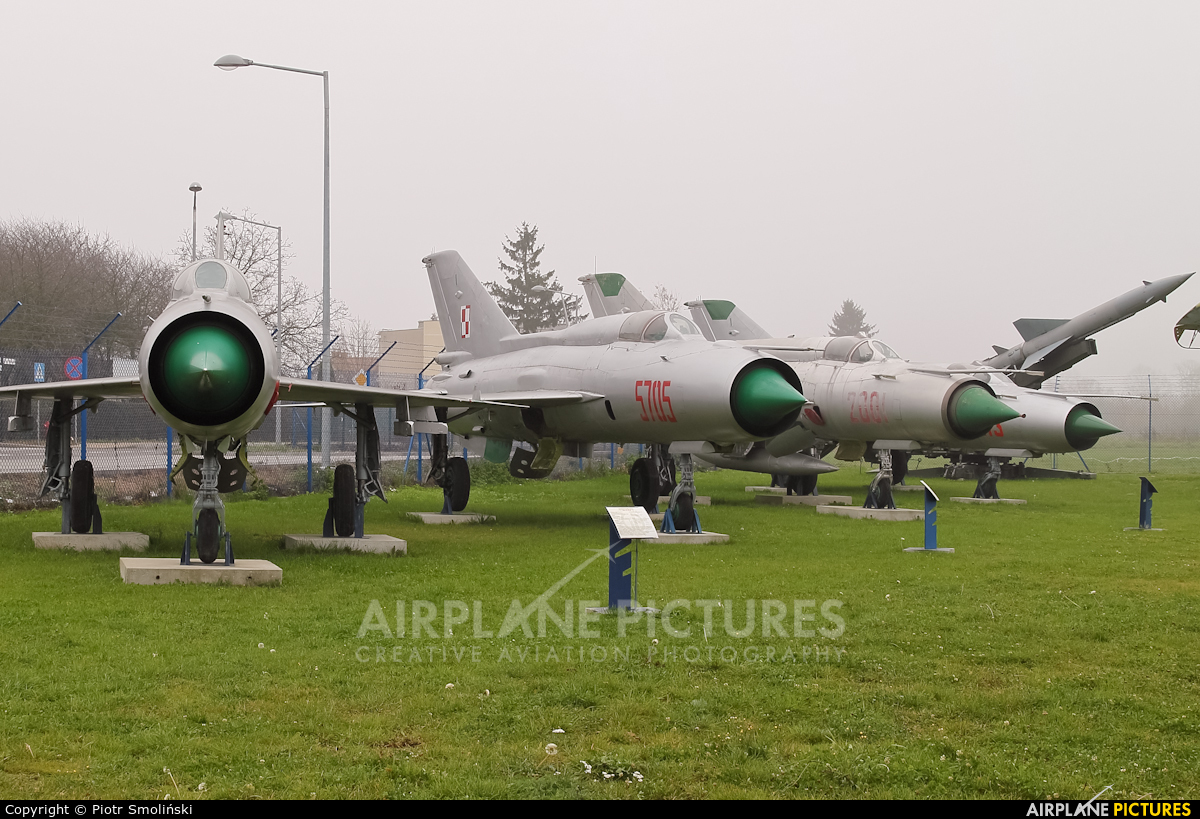 Poland - Air Force 5705 aircraft at Dęblin - Museum of Polish Air Force