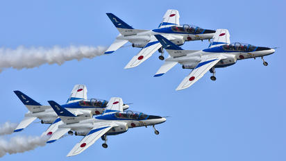 46-5731 - Japan - ASDF: Blue Impulse Kawasaki T-4