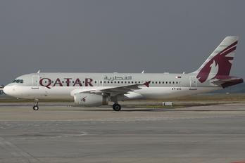 A7-AHC - Qatar Airways Airbus A320