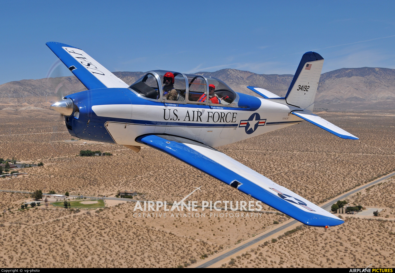 Private N134LM aircraft at Mojave